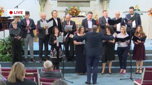 To God Be the Glory by Romanian Choir Nov 24 2018